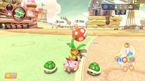 Mario Kart 8 Deluxe - Zuckersüßes Schloss