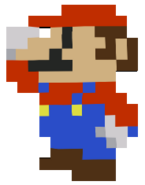Mario Pixel MP8