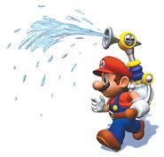 SMS Artwork Mario