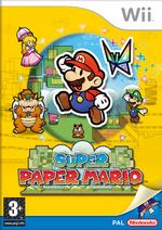 Super Paper Mario EUR обложка