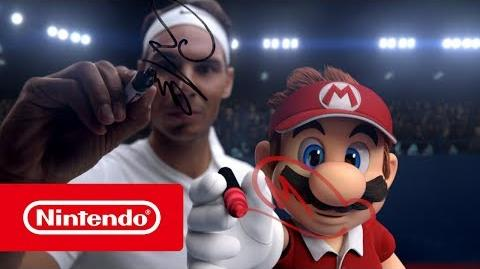 """Bande-annonce Mario Tennis Aces """"Face-à-face de stars"""" (Nintendo Switch)"""