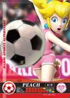 Carte amiibo Peach football