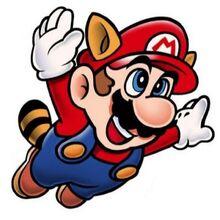 Mario Mapache en Super Mario Bros. 3