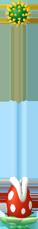NSMBW Sprite Fluss-Piranha