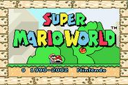 Super Mario Advance 2 - Title Screen 2