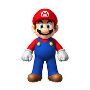 NSMBW Artwork Mario