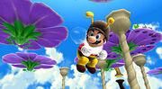 SMG Screenshot Bienen-Mario