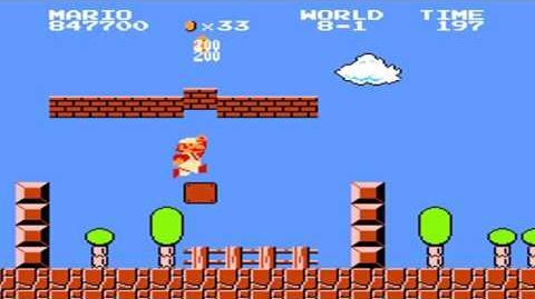Super Mario Bros. - World 8-1
