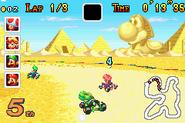 Yoshi Desert Race