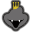 Icône King K. Rool noir Ultimate