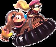 Kiddy Artwork 2 - Donkey Kong Country 3