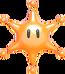 Maxiestrella Iris Naranja