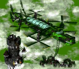 DKC2 Sprite Fliegendes Krokodil
