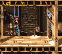 DKC3 Screenshot Türen-Allüren