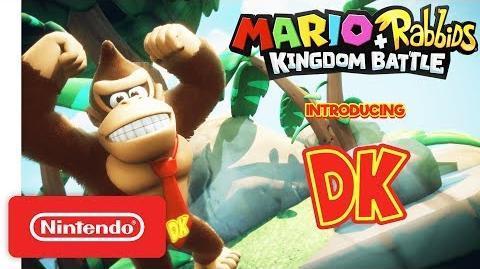 Mario + Rabbids Kingdom Battle Donkey Kong Reveal Trailer - Nintendo Switch