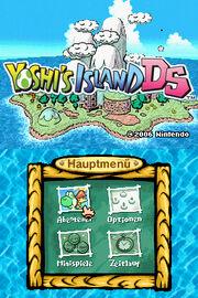 Modis Yoshi's Island DS