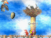 DKC2 Screenshot Krows Nest