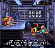 DKC3 Screenshot Blizzards Basiscamp