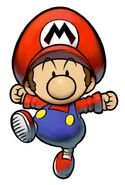 M&L2 Artwork Baby Mario