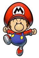 M&L2 Artwork Baby Mario