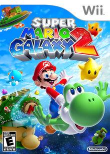 Verpackung Super Mario Galaxy 2 (US)