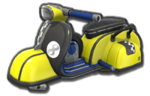 Corps Scooter jaune