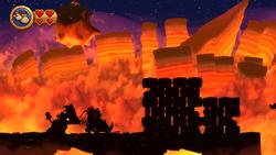 DKCR Screenshot Rauchgipfel
