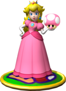Peach Artwork - Mario Party 4