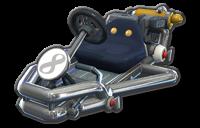 Corps Rétro Mario de métal