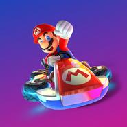 MK8 Deluxe Art - Mario