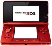3DS Gerät Rot