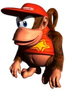 DK64 Artwork Diddy Kong 2