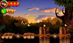DKCR3D Screenshot Drunter und Drüber