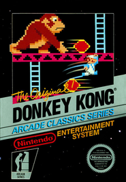 Donkey Kong NES Cover