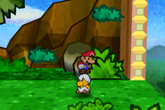 Mario and Jr. Troopa (Jump)