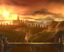 SSBB Screenshot Brücke von Eldin