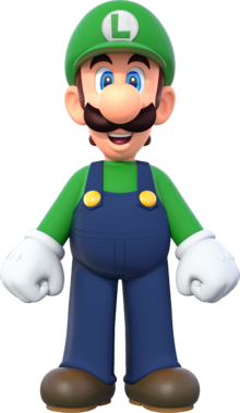 Artwork Luigi (NSMBUD)