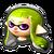 MK8 Icone Inkling vert