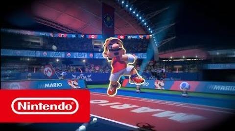 Mario Tennis Aces - Affrontez-vous avec Mario Tennis Aces sur Nintendo Switch! (Switch)