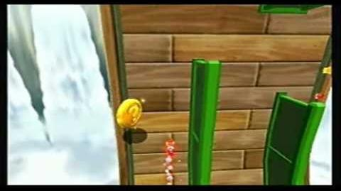 Super Mario Galaxy 2 - Beating The Luigi Ghost - Hightail Falls Galaxy (Star 1)