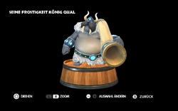 DKCTF Screenshot König Qual Extras