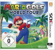 Mario Golf World Tour Boxart