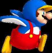 NSMBW Artwork Pinguin-Mario