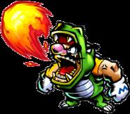 Dragon Wario Artwork (Wario Master of Disguise)