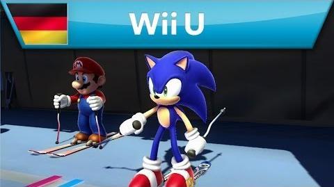 Mario & Sonic bei den Olympischen Winterspielen Sotschi 2014 - Trailer (Wii U)