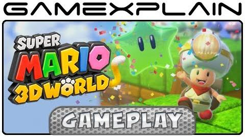 Super Mario 3D World - Captain Toad Goes Forth (Wii U - 1080p)
