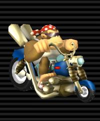 Wario Custom Funky Kong