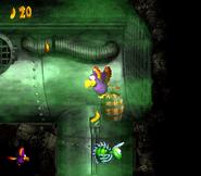 DKC3 Screenshot Laues Labyrinth 2