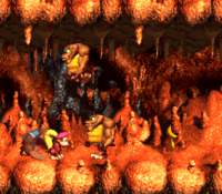 DKC3 Screenshot Zwillings-Zerwürfnis