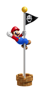 Flagpole Artwork - Super Mario 3D Land